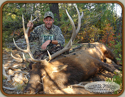 Craig took this Pope & Young 6x6 Colorado Trophy Elk while Bowhunting with SPO at Archery & Muzzleloader Hunting Camp #3